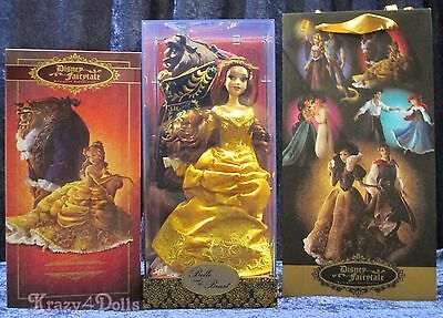 Disney Designer Fairytale Collection Doll Belle and the Beast Limited Edition!