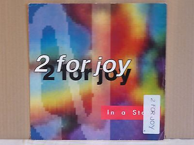 "2 For Joy - In A State 12"" Vinyl Record...."