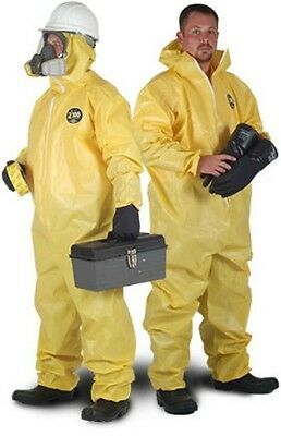Kappler Zytron Z100 Disposable Chemical Suit Type 3 4 Boilersuit Coverall & Hood