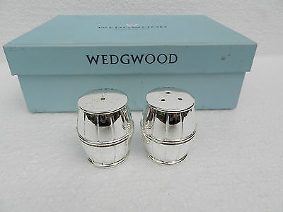 Wedgwood Silver Plated Salt And Pepper Shakers
