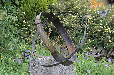 Copper Metal Sun Dial Vintage Armillary - Yorkshire Dales Reclaim
