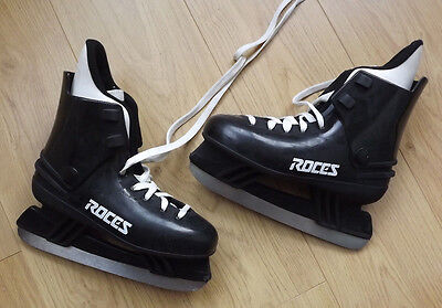 ice skates Roces made in italy black EUR 39