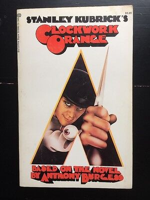 Kubrick Clockwork Orange Screenplay Script Book