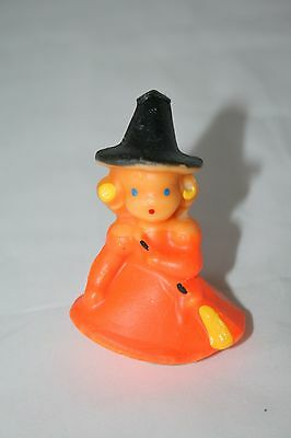 Vintage Gurley Candle Blonde witch