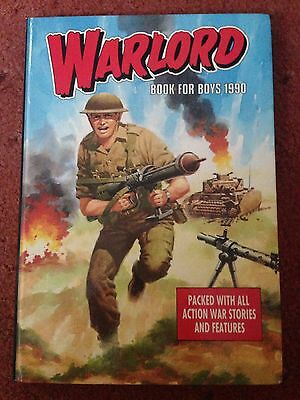 Warlord for boys annual 1990 Excellent Condition