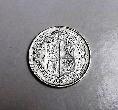 George V 1911 Halfcrown Very Nice Condition Nice Rare Coin