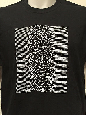 JOY DIVISION UNKNOWN PLEASURES T SHIRT factory records ian curtis poster vinyl