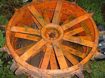 Fordson Standard N Tractor Steel Spade Lug Wheels Front And Rear Set