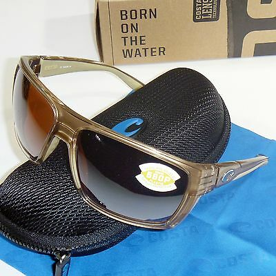 043921906f Costa Del Mar Hamlin Polarized Sunglasses - Crystal Bronze   Silver Mirror  580P