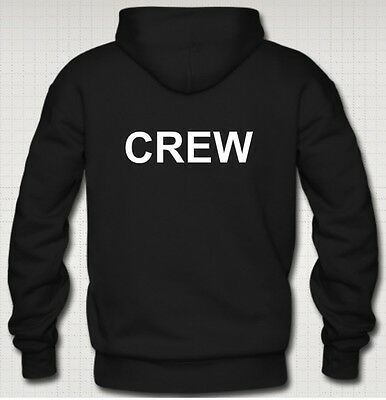 CREW Hoodies Stage Lighting Theatre Stage DJ