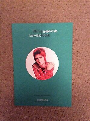 David Bowie - Speed Of Life Genesis Publications Promo Booklet