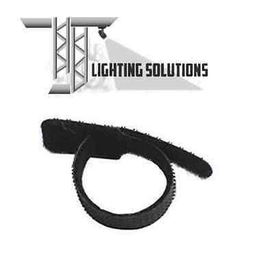 150mm Hook & Loop Cable Ties Stage Lighting Theatre Stage DJ