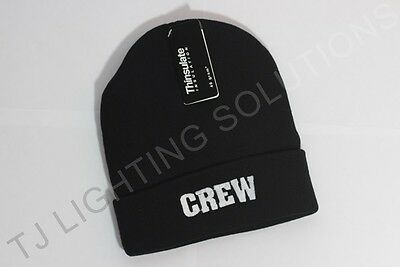 CREW Beanie Hat Stage Lighting Theatre Stage DJ