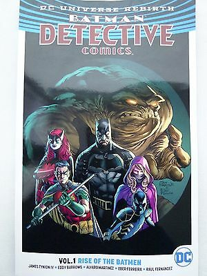 Detective Comics: Vol.1: Rise of the Batmen (Rebirth) by James Tynion (Paperback