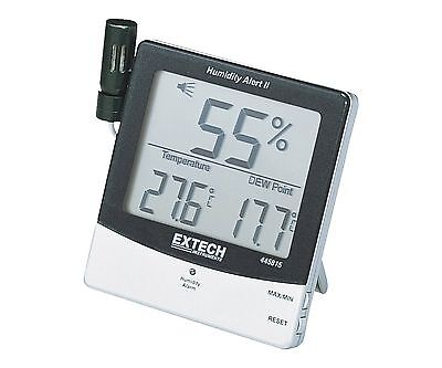 Extech 445815 Humidity Meter with Alarm and Remote Probe With Remote Probe