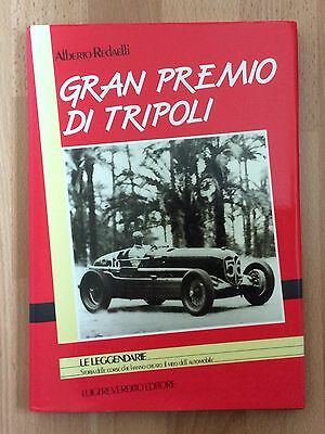Tripoli Grand Prix Gran Premio Di Tripoli 1925-1940 Photographic Book - Sealed