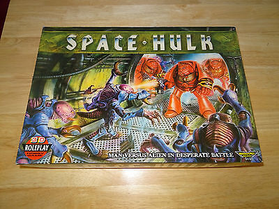 Space Hulk 1st Edition Games Workshop complete unpainted