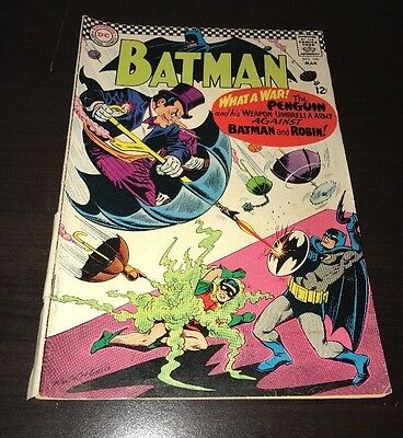 Batman #190 Silver Age Penguin Appearance DC Comics Classic Infantino Cover