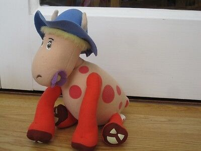 "Magic Roundabout Ermintrude The Cow 9"" Plush Soft Toy"