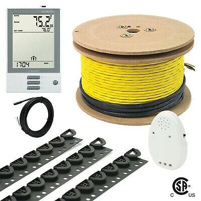 240V GM4 Electrical Radiant Warming Floor Heating Cable System Kits