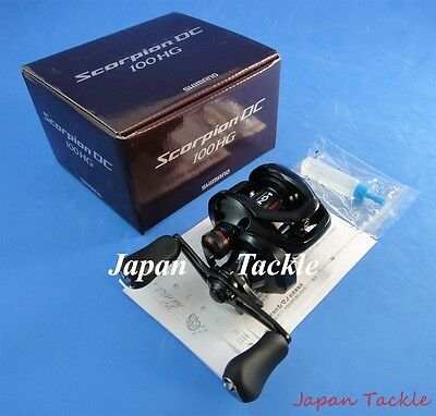 2017 New Shimano Scorpion Dc 100 Hg 100Hg Reel *1-3 Days Fast Delivery*