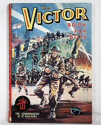 The Victor Book for Boys - Annual No.1 - 1964 - 1st Edition