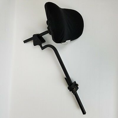 Quickie Pulse 6 Head Rest with Mounting Hardware Plush Pad & Removable Cover