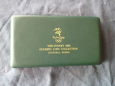 sydney 2000 olympic coin collection set of 8 cultural series
