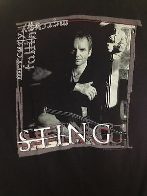 Sting Tour T Shirt XL 1996 Mercury Falling North American USA Made