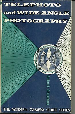 1959 Telephoto And Wide-Angle Photography Book Chilton Company Vintage Cameras