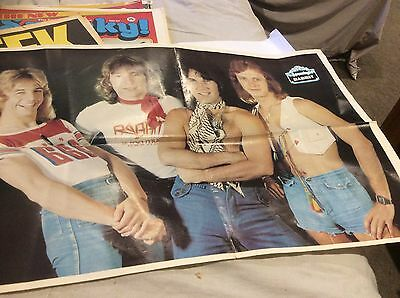 Rare Spunky Vintage 1970s Rock Band Rabbit No 26    magazine poster