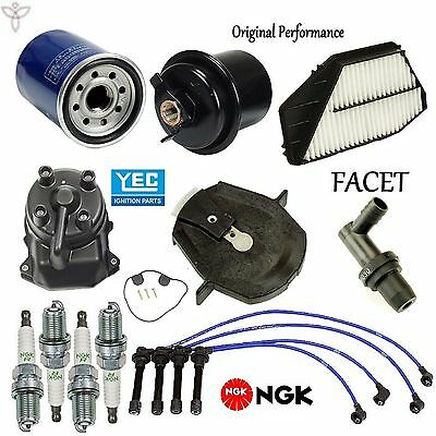 OEM  Tune Up Kit ;Accord Lx 2.2 Filters,Pcv,Cap,Rotors,Wires,Plugs 1994-97