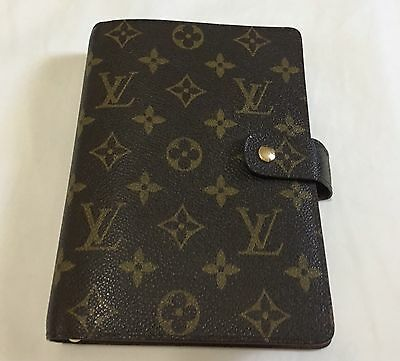 Authentic Louis Vuitton Monogram Agenda Mm Day Planner Vintage