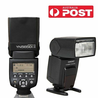 Yongnuo YN-565EX II E-TTL Wireless Flash Speedlite For Canon 1200D 7D 600D 5D AU