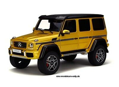 "1/18 MERCEDES-BENZ G500 4x4² ""SolarBeam"" GT-Spirit Asia Edition KJ013 LE 504"