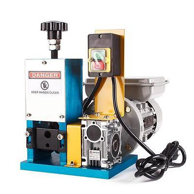 Powered Electric Wire Stripping Machine Metal Tool Scrap Cable Stripper 110V US