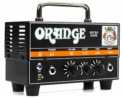 Orange MD20 Micro Dark Head Amp 20-Watt Hybrid Amplifier