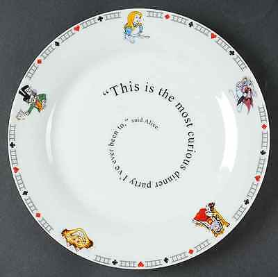 Cardew Design ALICE IN WONDERLAND'S CAFE Dinner Plate 8430590