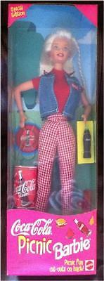 Coca-Cola ~ Picnic ~ Barbie ~ New In Box ~ Special Edition!!
