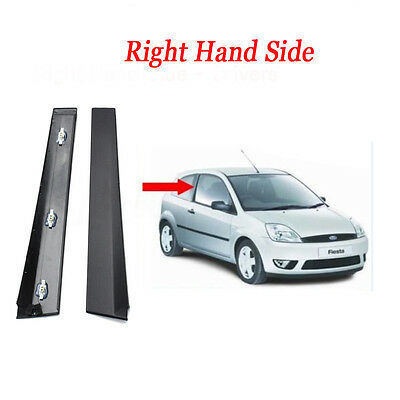 Outer Front 3 Door Moulding Trim Right Hand Driver For Ford Fiesta MK6 01-08