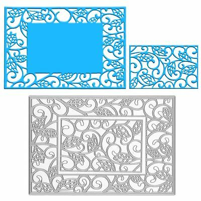 Frame Metal Cutting Dies Stencil Scrapbooking Album Paper Card Embossing Craft