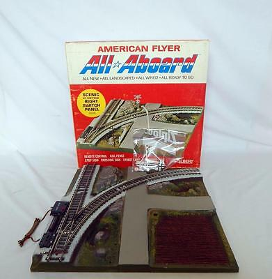 American Flyer 26141 All Aboard Scenic Right Hand Switch Panel Boxed Pikemaster