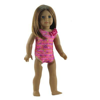 Stars Printed Swimsuit Clothes for 18'' American Doll Our Generation Dolls