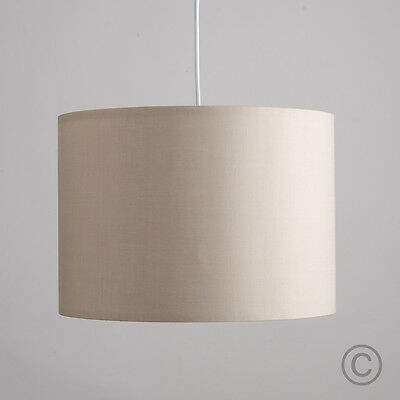 Contemporary Large 35cm Ceiling Light Pendant Shade Mink Drum Lampshade Home