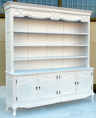 regalschrank weiss b cherschrank shabby chic anrichte regal vintage schrank eur 299 00. Black Bedroom Furniture Sets. Home Design Ideas