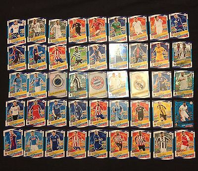 New Topps MATCH ATTAX 16 / 17  UEFA CHAMPIONS LEAGUE 48 cards