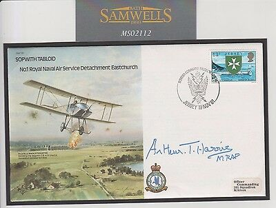MS2112 1981 GB Jersey RAF commemorative cover Bomber Harris signed