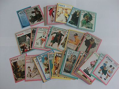A complete set Series 1 of Norman Rockwell collector cards