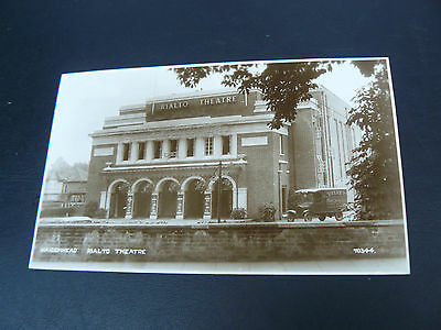 Maidenhead Rialto Theatre Real Photo RP Postcard - Velvet Pure Cream Ice Lorry