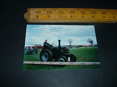 Old  Photo Vintage Tractor Combined Postage  (R21
